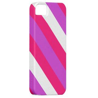 Caja rayada caramelo del iPhone 5s iPhone 5 Case-Mate Funda