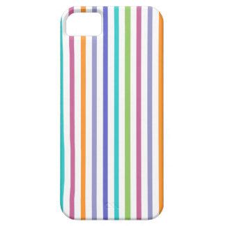 Caja rayada color moderno del iPhone 5 Funda Para iPhone 5 Barely There