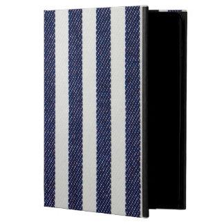 Caja rayada marina de guerra del aire del iPad de