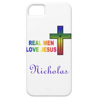 Caja real personalizada del iPhone 5 de Jesús del Funda Para iPhone SE/5/5s