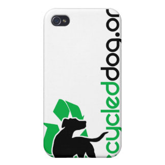 Caja reciclada del iPhone del perro iPhone 4/4S Carcasa