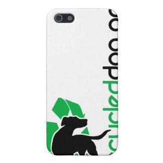Caja reciclada del iPhone del perro iPhone 5 Funda