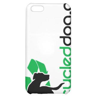 Caja reciclada del iPhone del perro