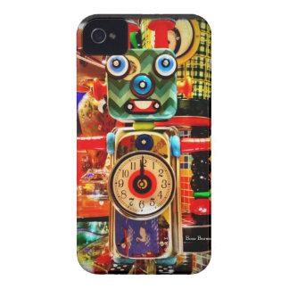 Caja reciclada reloj del iPhone 4 del arte del Funda Para iPhone 4 De Case-Mate