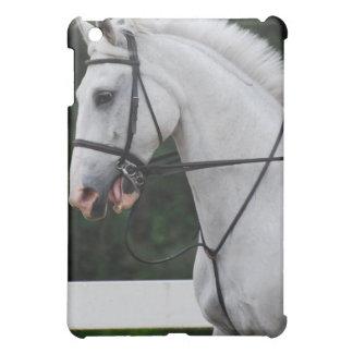 Caja recogida del iPad del caballo blanco