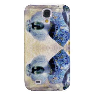 Caja reflejada del retrato iPhone3 Funda Para Galaxy S4