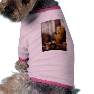 Caja registradora de cobre amarillo camisetas de perro