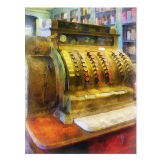 Caja registradora en farmacia postal