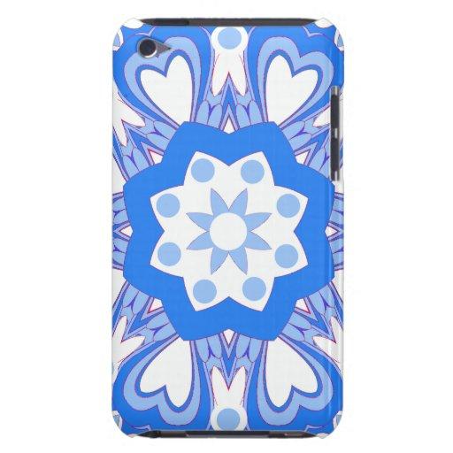 Caja retra azul y blanca bonita del tacto de IPod iPod Touch Case-Mate Protector