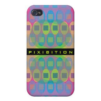 Caja retra cuadrada en colores pastel del iPhone 4 iPhone 4/4S Funda