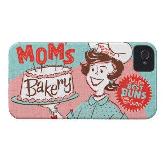 Caja retra de Blackberry de la panadería de la iPhone 4 Carcasa