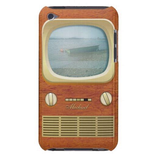 Caja retra de iPod de la televisión de la TV iPod Touch Cárcasa