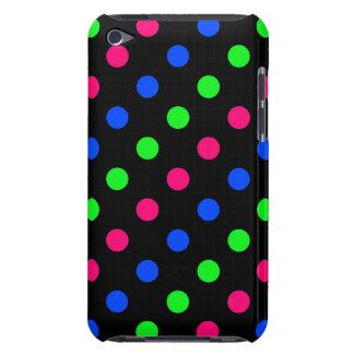 Caja retra de IPod del lunar de los colores Case-Mate iPod Touch Fundas