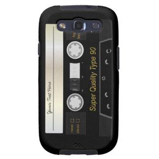 Caja retra de la galaxia S3 de Samsung de la cinta