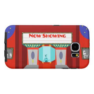 Caja retra de la galaxia S6 de Samsung del cine Fundas Samsung Galaxy S6