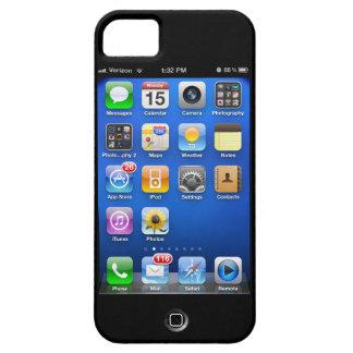 Caja retra de los colectores del IOS 5 para el Funda Para iPhone 5 Barely There