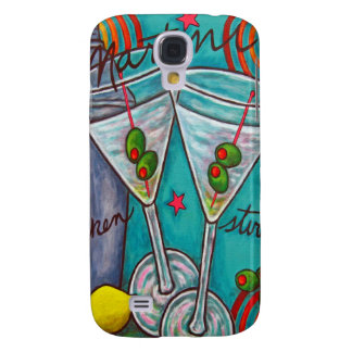 Caja retra de Martini iPhone3 de Lisa Lorenz Funda Para Galaxy S4