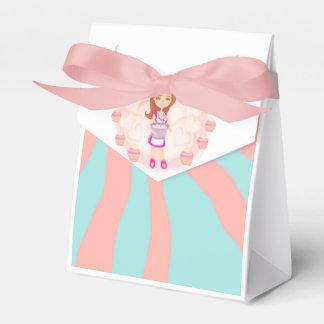 Caja retra del favor del chica de la cocina caja para regalos