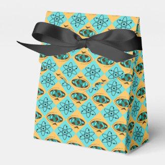 Caja retra del favor del trotón del globo del cajas para regalos de fiestas