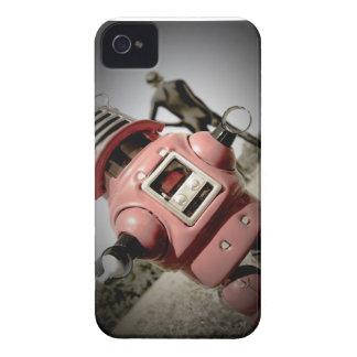 Caja retra del robot 04 de Robby del juguete iPhone 4 Carcasa
