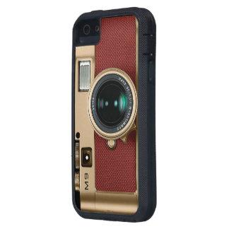 caja retra del teléfono de la cámara iPhone 5 Case-Mate fundas