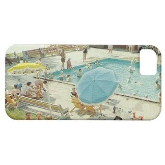 Caja retra del teléfono de la foto del vintage de  iPhone 5 Case-Mate funda