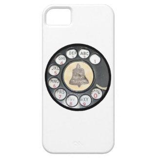 caja retra del teléfono del teléfono del dial iPhone 5 carcasa