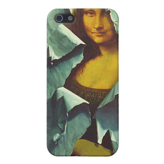 caja robada de la cubierta del iphone 4 de Mona iPhone 5 Funda