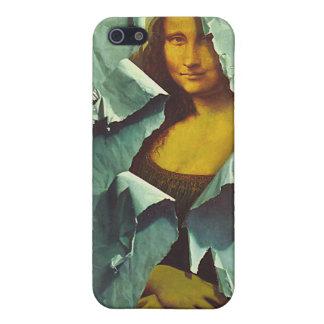 caja robada de la cubierta del iphone 4 de Mona iPhone 5 Fundas