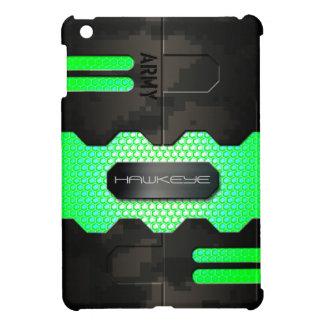 Caja robótica del camuflaje de Digitaces del ejérc iPad Mini Carcasas