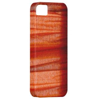 Caja roja abstracta del iphone 5 de la tela iPhone 5 funda