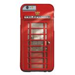 Caja roja británica clásica del iPhone 6 de la Funda De iPhone 6 Slim