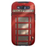Caja roja británica de la galaxia de Phonebox Sams