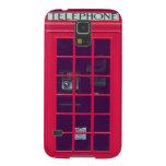 Caja roja británica original del teléfono funda de galaxy s5