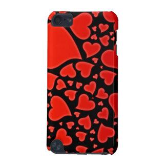 Caja roja caliente de la mota del tacto de iPod de Funda Para iPod Touch 5G