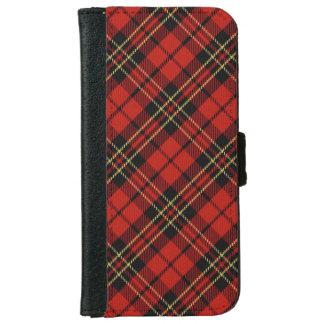 Caja roja clásica de la cartera del iPhone 6/6S Funda Cartera Para iPhone 6