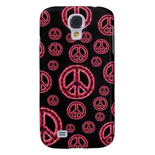 Caja roja de IPhone 3 de la Multi-Paz Funda Para Galaxy S4