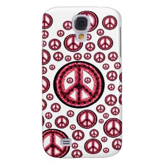 Caja roja de IPhone 3 de la Multi-Paz Funda Para Samsung Galaxy S4