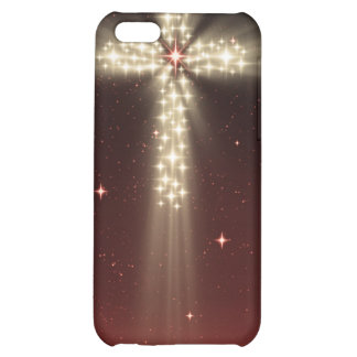 Caja roja de Iphone 4 de la cruz de la estrella de