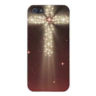 Caja roja de Iphone 4 de la cruz de la estrella de iPhone 5 Protectores