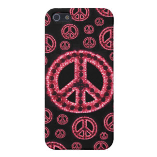 Caja roja de IPhone 4 de la Multi-Paz iPhone 5 Protectores