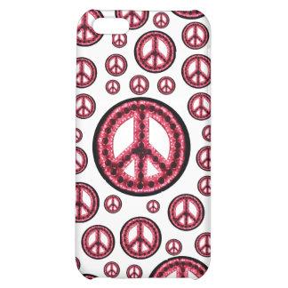 Caja roja de IPhone 4 de la Multi-Paz