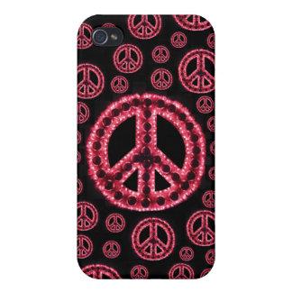 Caja roja de IPhone 4 de la Multi-Paz iPhone 4 Coberturas