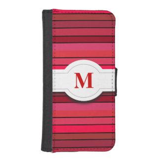 Caja roja de la cartera del iPhone 5 5s del modelo Cartera Para iPhone 5