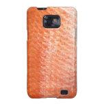Caja roja de la galaxia de Samsung de los pescados Galaxy SII Carcasa
