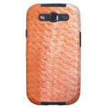 Caja roja de la galaxia de Samsung de los pescados Galaxy S3 Protectores