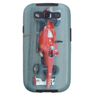 Caja roja de la galaxia de Samsung del coche de co Samsung Galaxy S3 Coberturas