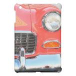 Caja roja de la mota del ipad del coche
