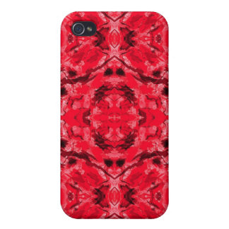 Caja roja de rubíes de Iphone 4/4S del tatuaje del iPhone 4 Protectores