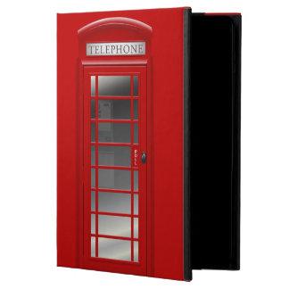 Caja roja del aire del iPad de CallBox del teléfon